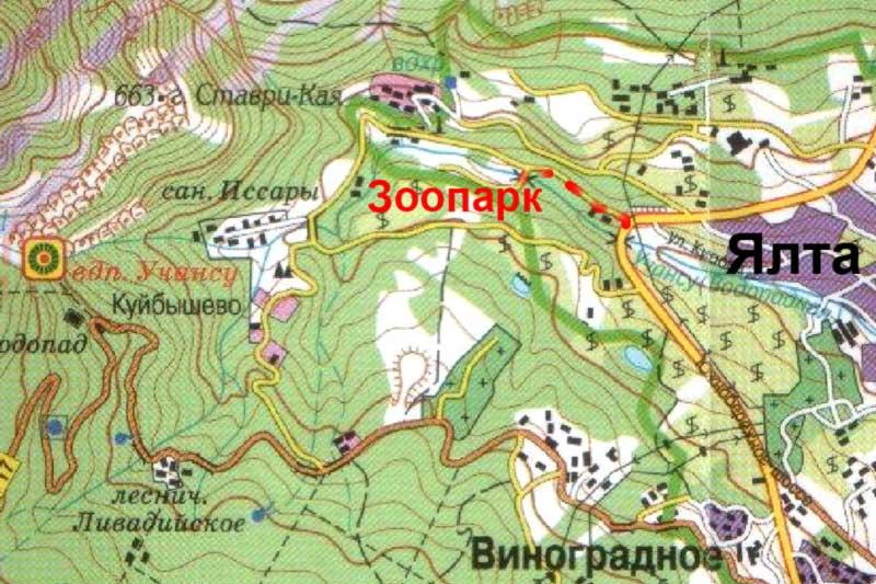 Карта подъезда